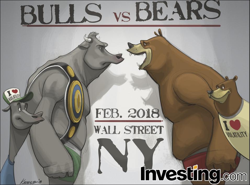 英为财情Investing.com每周漫画《金融市场又再度变得有看头了》