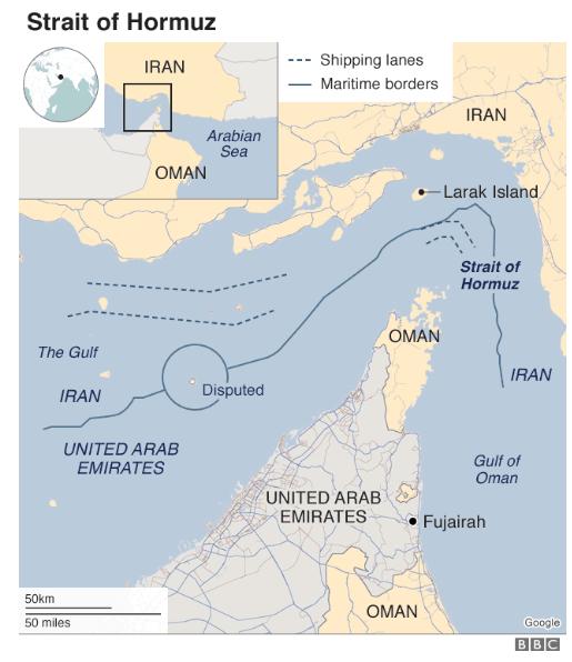 一文看懂为什么霍尔木兹海峡对油价的影响至关重要