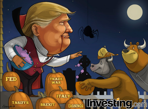 Trick-or-Treat Time for the Bulls and Bears